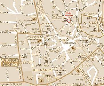 nyomtatható eger térkép Eger térkép Minaret szálloda Egerben nyomtatható eger térkép